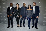 Corey Gamble, Kris Jenner, Kanye West, Kim Kardashian West and Riccardo Tisci attend the WSJ. Magazine 2019 Innovator Awards sponsored by Harry Winston and Rémy Martinat MOMA on November 06, 2019 in New York City.
