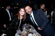Julianne Moore and Riccardo Tisci attend the WSJ. Magazine 2019 Innovator Awards sponsored by Harry Winston and Rémy Martin at MOMA on November 06, 2019 in New York City.