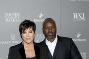 Kris Jenner and Corey Gamble attend the WSJ. Magazine 2019 Innovator Awards sponsored by Harry Winston and Rémy Martinat MOMA on November 06, 2019 in New York City.