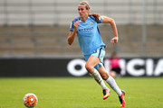 Jill Scott of Manchester City Women during the FA Women's Super League match between Manchester City Women and Chelsea Ladies FC at City Academy on September 25, 2016 in Manchester, England.