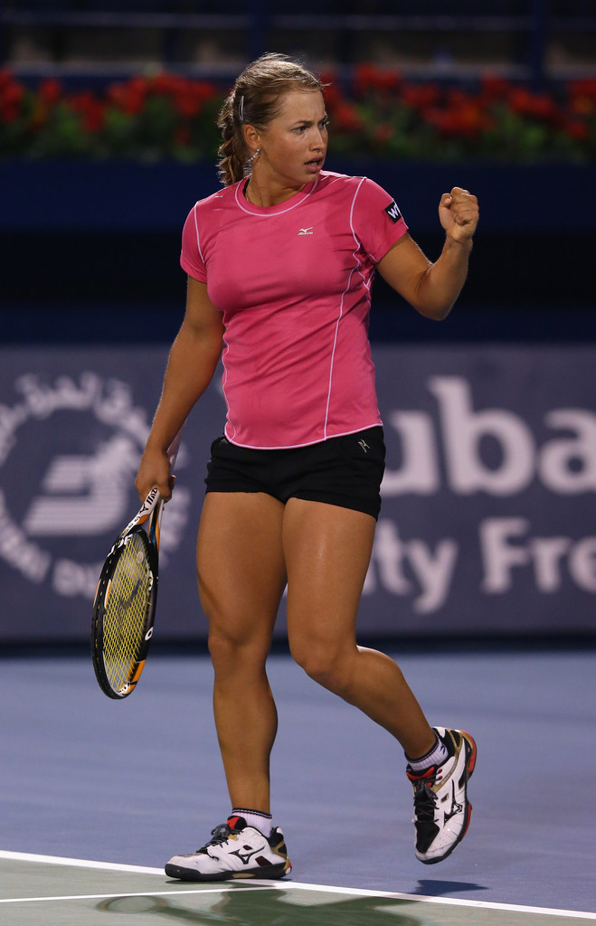 ... Photos - WTA Dubai Duty Free Tennis Championship - Day One - Zimbio