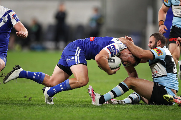 NRL Rd 6 - Sharks v Bulldogs