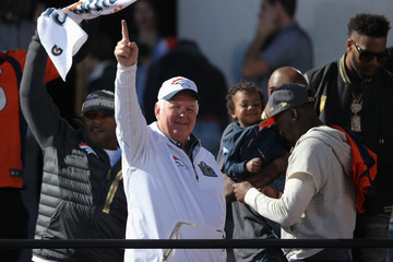 Wade Phillips Denver Broncos Victory Parade