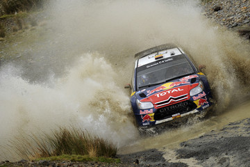 Diego Vallejo Wales Rally  GB - Day One