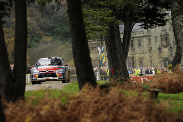 Diego Vallejo Wales Rally  GB - Day Three