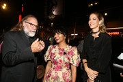 Greg Nicotero, Karen David and Jenna Elfman attend The Walking Dead Premiere and Party on September 23, 2019 in West Hollywood, California.