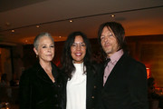 Melissa McBride, Sarah Barnett and Norman Reedus  attend The Walking Dead Premiere and Party on September 23, 2019 in West Hollywood, California.