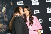 Greg Nicotero and Alanna Masterson attend The Walking Dead Premiere and Party on September 23, 2019 in West Hollywood, California.