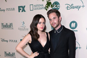 (L-R)  Molly Gordon and Ben Platt attend The Walt Disney Company 2020 Golden Globe Awards Post-Show Celebration at The Beverly Hilton Hotel on January 05, 2020 in Beverly Hills, California.