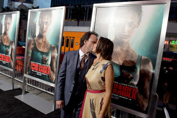 Walton Goggins Premiere Of Warner Bros. Pictures' 'Tomb Raider' - Red Carpet