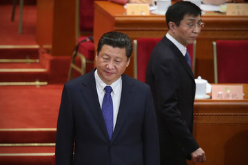 Wang Huning The Chinese People's Political and Consultative Conference Closing Ceremony