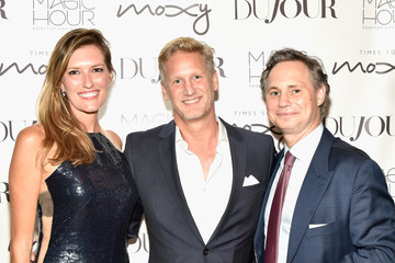 Ward Simmons DuJour and Jason Binn Celebrate Fall Cover Star Uma Thurman at The Magic Hour at Moxy Times Square