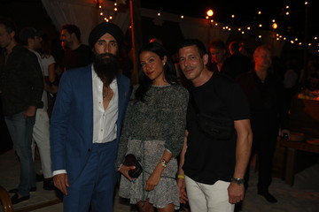 Waris Ahluwalia White Cube And Soho Beach House Party With Bombay Sapphire During Art Basel Miami 2018