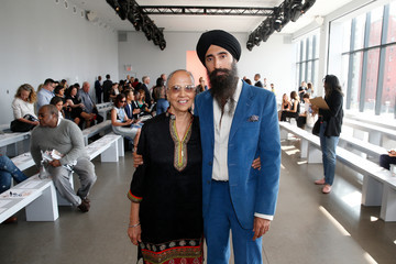 Waris Ahluwalia Bibhu Mohapatra - Front Row - September 2019 - New York Fashion Week: The Shows