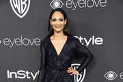 Cynthia Addai-Robinson attends the 18th Annual Post-Golden Globes Party hosted by Warner Bros. Pictures and InStyle at The Beverly Hilton Hotel on January 8, 2017 in Beverly Hills, California.