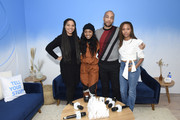 """Channing Godfrey Peoples, Alexis Chikaeze, Kendrick Sampson and Nicole Beharie of """"Miss Juneteenth"""" stop by WarnerMedia Lodge: Elevating Storytelling with AT&T during Sundance Film Festival 2020 on January 24, 2020 in Park City, Utah."""