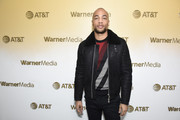 Kendrick Sampson stops by WarnerMedia Lodge: Elevating Storytelling with AT&T during Sundance Film Festival 2020 on January 24, 2020 in Park City, Utah.