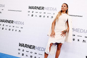 Karrueche Tran of TNT's Claws attends the WarnerMedia Upfront 2019 arrivals on the red carpet at The Theater at Madison Square Garden on May 15, 2019 in New York City. 602140