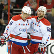 Mike Green Alexander Ovechkin Photos