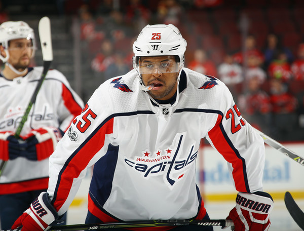 Devante Smith-Pelly in Washington Capitals v New Jersey Devils - Zimbio 5a09b5623