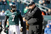 Michael Vick and Andy Reid Photos Photo