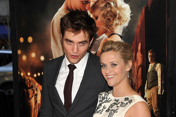 """Reese Witherspoon Robert Pattinson """"Water For Elephants"""" New York Premiere - Inside Arrivals"""