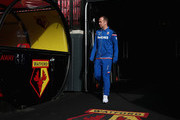 Charlie Adam of Stoke City arrives at the stadium prior to the Premier League match between Watford and Stoke City at Vicarage Road on October 28, 2017 in Watford, England.