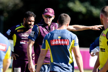 Wayne Bennett Brisbane Broncos Training Session