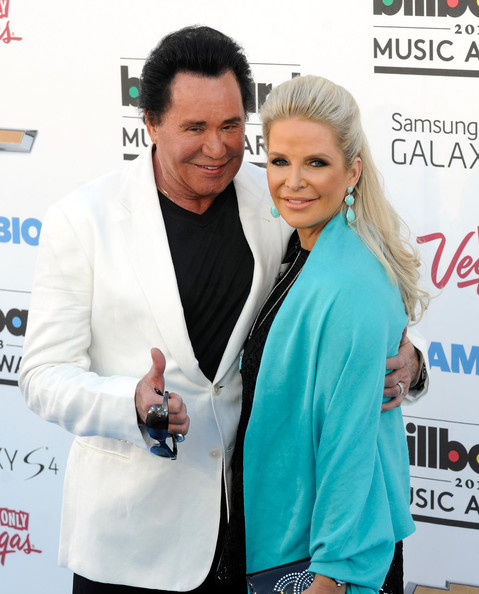 Arrivals at the Billboard Music Awards — Part 3 [arm,outerwear,smile,judo,carpet,premiere,arrivals,wayne newton,kathleen mccrone,billboard music awards,2013 billboard music awards,las vegas,nevada,mgm grand garden arena]