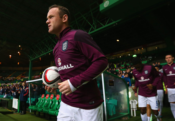Wayne Rooney Celtic Wayne Rooney Wayne Rooney of England heads out to warm up ahead of the