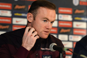 Wayne Rooney England Press Conference