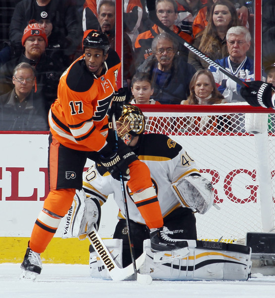 Wayne Simmonds And Tuukka Rask Photos Photos