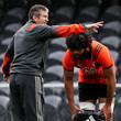Wayne Smith New Zealand All Blacks Training Session