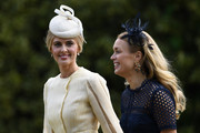 Donna Air (L) attends the wedding of Pippa Middleton and James Matthews at St Mark's Church on May 20, 2017 in Englefield Green, England.