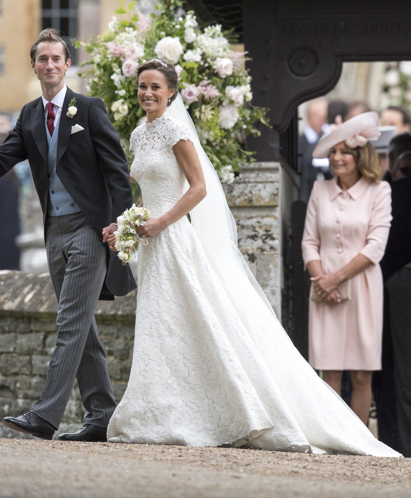 wedding of pippa middleton and james matthews zimbio