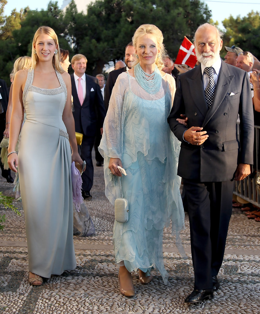 Gabriella Windsor and Prince Michael Of Kent Photos Photos - Wedding ...