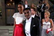 Marcus Samuelsson and Maya Haile Photos Photo