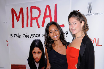 """Stella Schnabel Rula Jebreal The Weinstein Company And His Excellency Mr. Joseph Deiss, President Of The 65th Session Of The United Nations General Assembly Host The Premiere Of Julian Schnabel's """"Miral"""""""