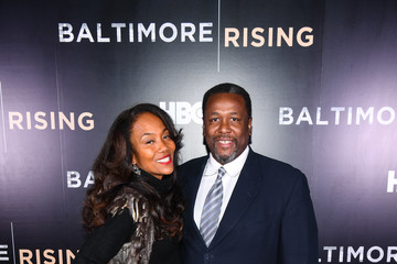 Wendell Pierce Red Carpet Premiere of HBO Documentary 'Baltimore Rising'