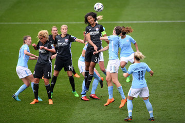 Wendie Renard Manchester City Women vs. Lyon - UEFA Women's Champions League Semi Final: First Leg