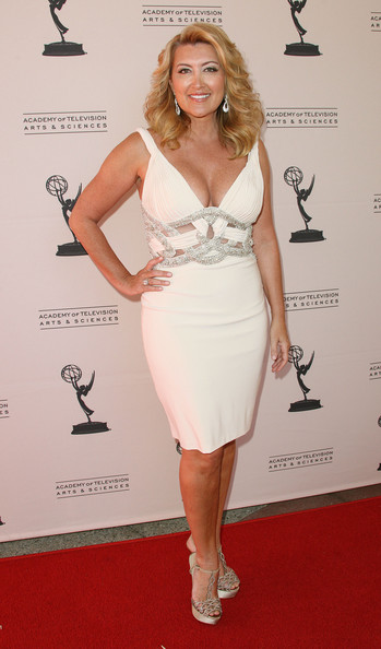 Wendy burch television reporter wendy burch attends the academy of