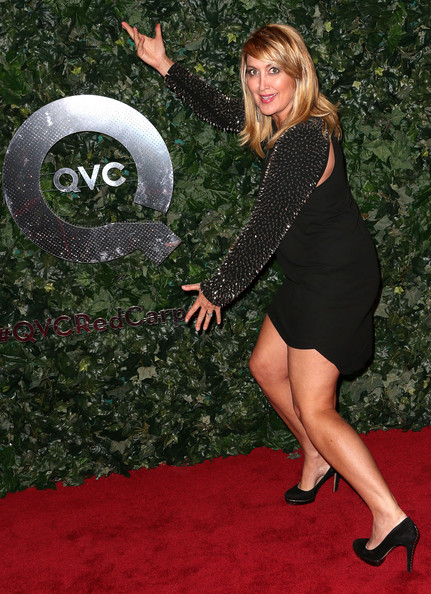 Wendy burch television reporter wendy burch attends the qvc red carpet