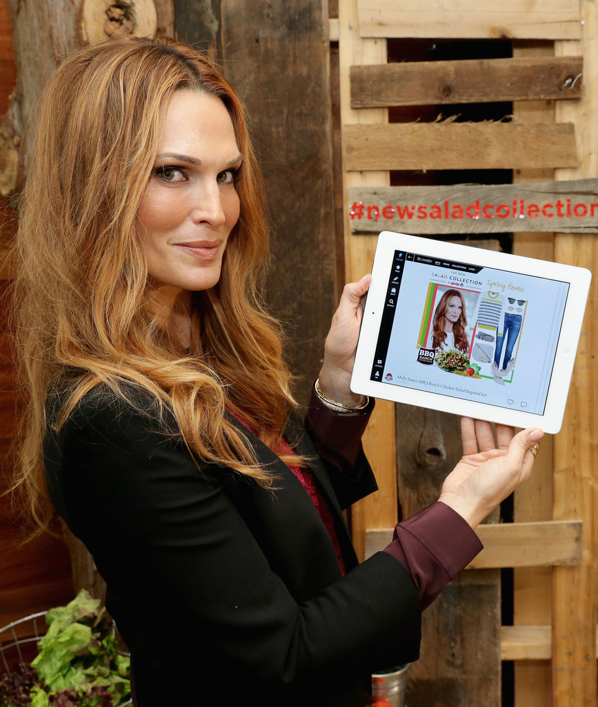 Wendy's Partners with Molly Sims for Salad Collection