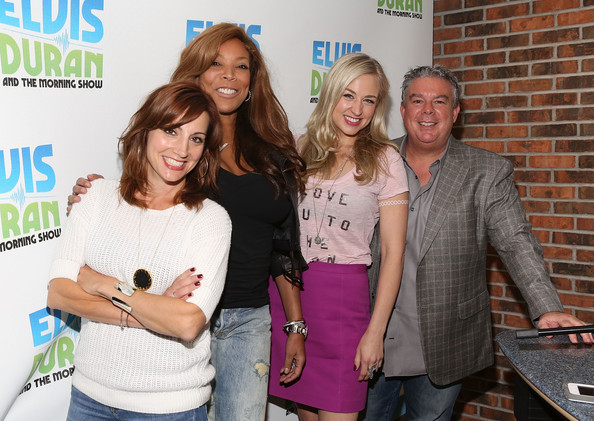 Wendy Williams Visits a Radio Show