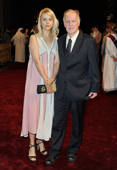 Werner Herzog Director Werner Herzog with his wife Lena attend the