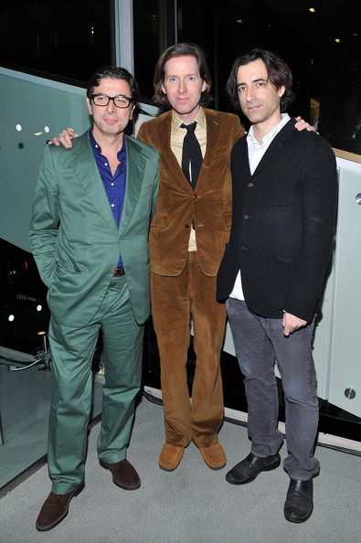 Wes Anderson and Noah Baumbach Photos Photos - 49th Annual ...  Wes Anderson an...