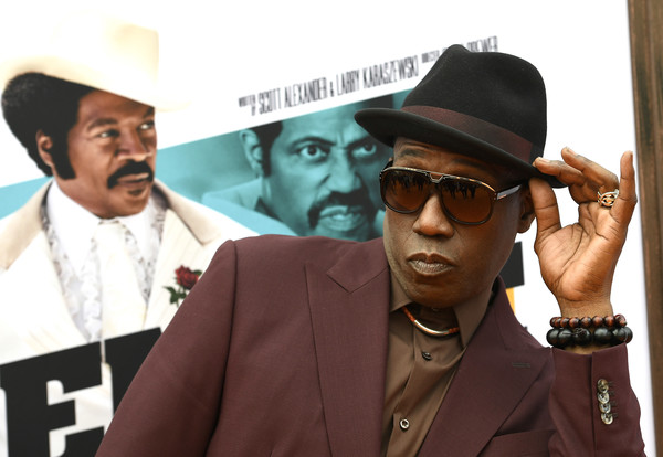 L.A. Premiere Of Netflix's 'Dolemite Is My Name' - Red Carpet [dolemite is my name,red carpet,eyewear,cool,photography,movie,fashion accessory,album cover,fedora,white-collar worker,rapper,glasses,wesley snipes,california,regency village theatre,netflix,westwood,la premiere]
