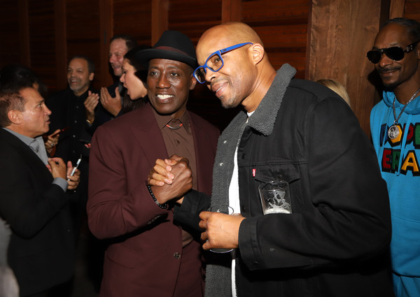 Netflix Presents 'Dolemite Is My Name' Los Angeles Premiere [netflix presents ``dolemite is my name,dolemite is my name,event,warren g,wesley snipes,l-r,los angeles,california,netflix,premiere]