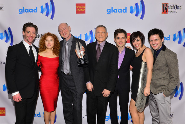 Backstage at the Annual GLAAD Media Awards
