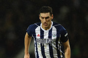 Gareth Barry of West Bromwich Albion during the Premier League match between West Bromwich Albion and Arsenal at The Hawthorns on December 31, 2017 in West Bromwich, England.